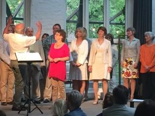 Bilde fra Oslo Jammerkors 10 års jubileumskonsert