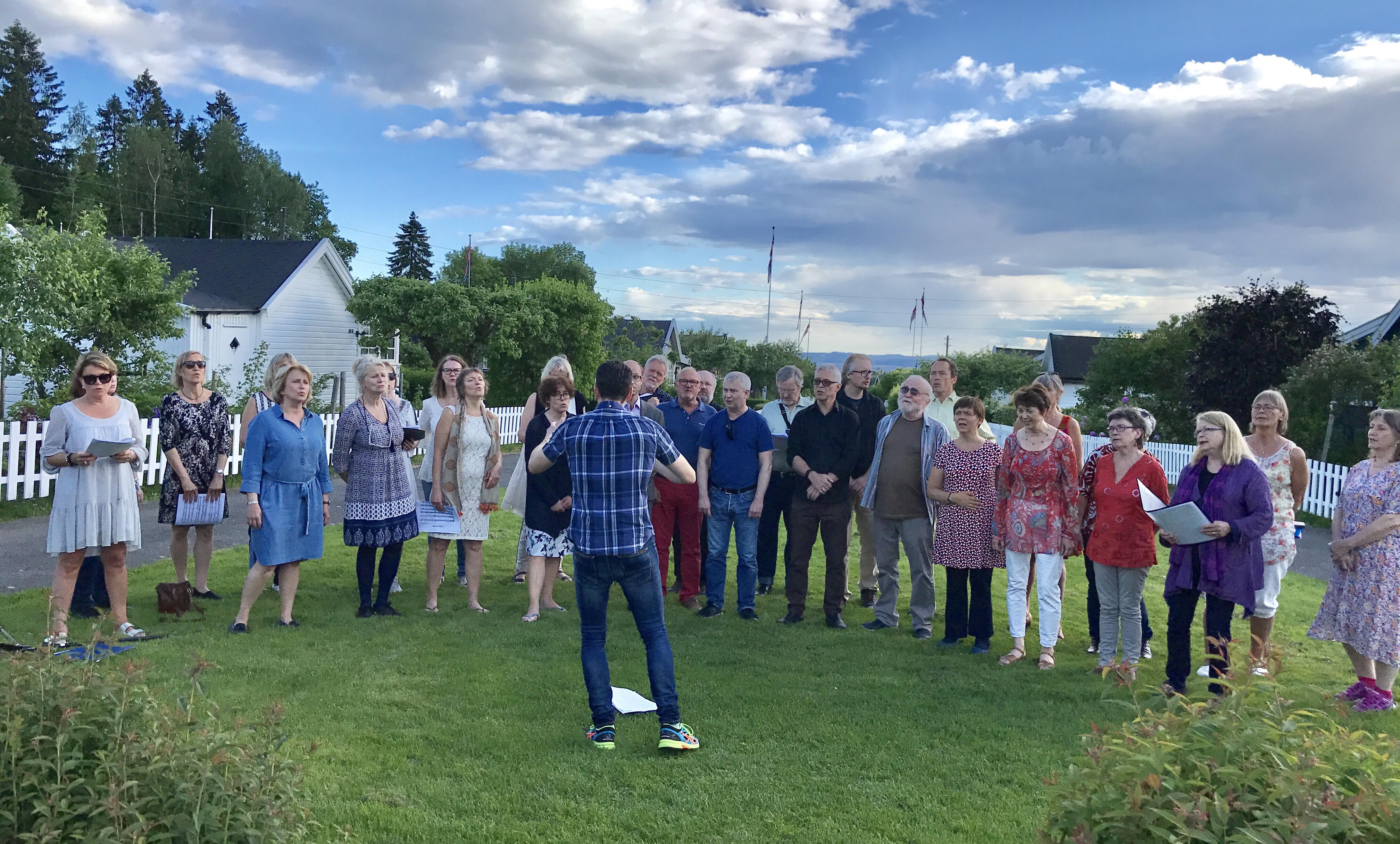 Konsert Solvang hagekoloni